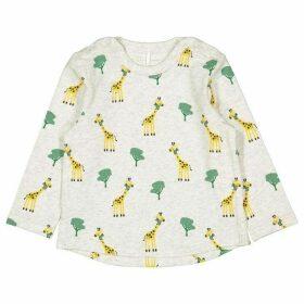 Polarn O Pyret Babies Giraffe Print Top
