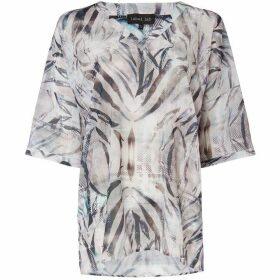 Label Lab Zebra print blouse