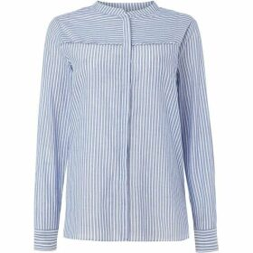 Second Female Long Sleeve Pinstripe Evaline Blouse