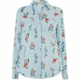 Oasis Stripe Floral Shirt