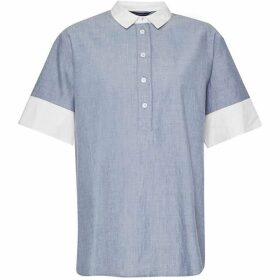 French Connection Kyra Cotton Short Sleeve Shirt