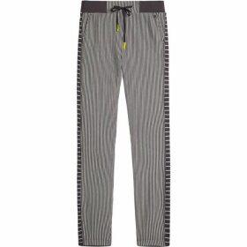 Sandwich Pin Stripe Jersey Trousers