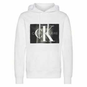 Calvin Klein Jeans Mono Box Logo Hoodie