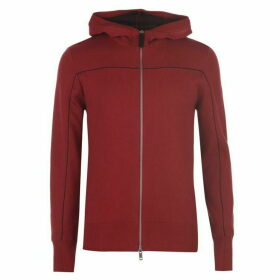 Armani Exchange Armani Knitted Zip Hoodie Mens