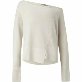 All Saints Lando Off Shoulder Sweatshirt