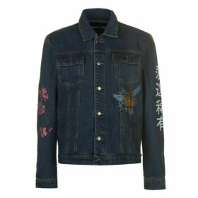 ALWAYS RARE Embroidered Denim Jacket