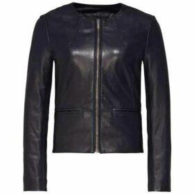 Tommy Hilfiger Gretel Peplum Leather Jacket