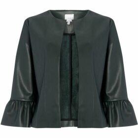 Linea Hazel faux leather jacket