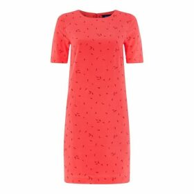 Gant Micro Print Dress