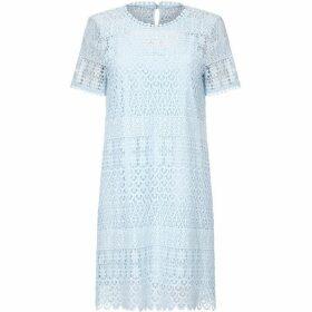Yumi Floral Lace Ocassional Tunic Dress