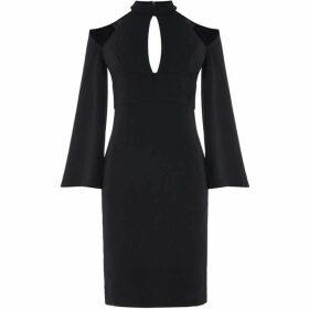 Bardot Drape sleeve dress