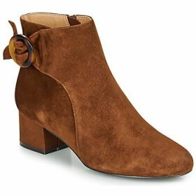 André  LOUISON  women's Low Ankle Boots in Brown