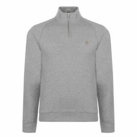 Farah Vintage Farah Jim Quarter Zip Jumper Mens