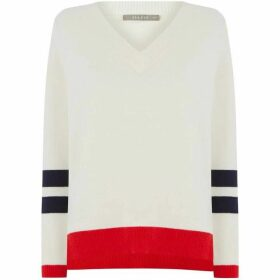 Oasis Melody Flash V Neck Jumper