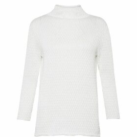 French Connection Molly Mozart Knits High Neck Jumper