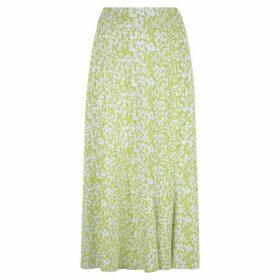 Havren Carrie Bias Flared Skirt