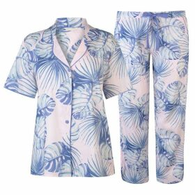 Cyberjammies Palm Short Sleeve Set Womens