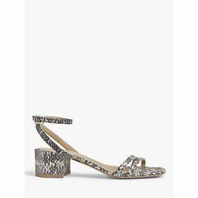 John Lewis & Partners Maggy Hexagonal Heel Sandals