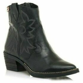 MTNG  BOTA CA?A BAJA PARA MUJER  women's Mid Boots in Black