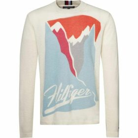 Tommy Hilfiger Long Sleeve Graphic Sweater