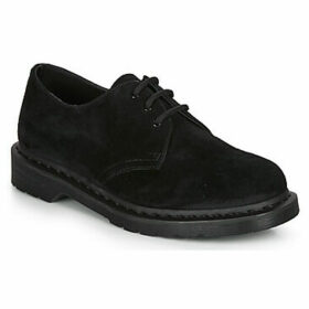 Dr Martens  1461 MONO SOFT BUCK  women's Casual Shoes in Black