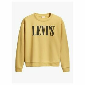 Levi's Plus Graphic Madison Crew Sweatshirt, Ochre