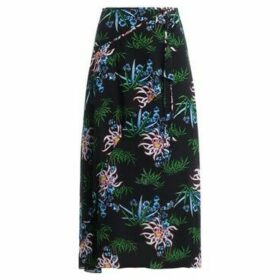 Kenzo  Sea Lily maxi skirt with all-over floral print  women's Skirt in Black