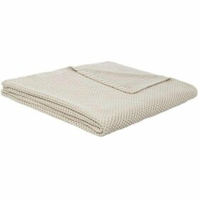 Linea Knit Throw Stone