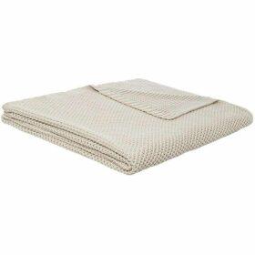 Linea Knit Throw Stone