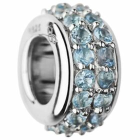 Links of London Sweetie Sterling Silver Blue Topaz Bead