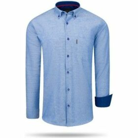 Cappuccino Italia  Regular Fit Overhemd Royal  women's Shirt in Blue