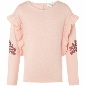 Rose and Wilde Fern Embrodied Sleeve Jersey