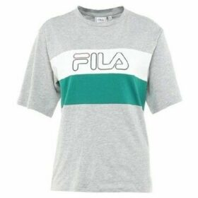 Fila  Lei Tee  women's T shirt in Grey