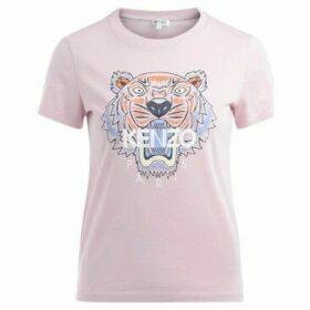 Kenzo  Tigre pink cotton t shirt  women's T shirt in Pink