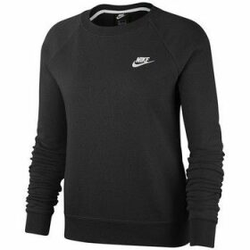 Nike  Essential Crew Fleece  women's Sweatshirt in Black