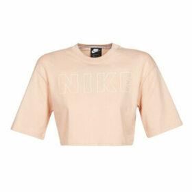 Nike  W NSW AIR TOP SS CROP  women's T shirt in Beige