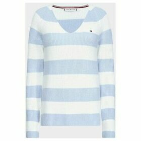 Tommy Hilfiger  WW0WW27730 HAYANA  women's Sweater in White