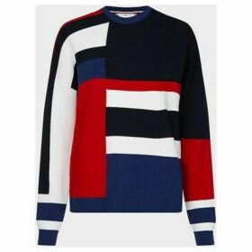 Tommy Hilfiger  WW0WW27170 HAILEEN KNITWEAR Women BLUE  women's Sweater in Blue