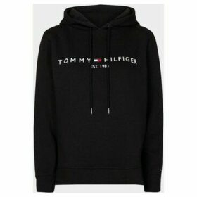 Tommy Hilfiger  WW0WW26410 HILFIGER HOODIE  women's Sweatshirt in Black