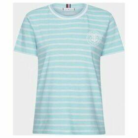 Tommy Hilfiger  WW0WW27141 COOL T-SHIRT  women's T shirt in Blue