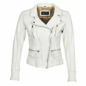 Oakwood  CAMERA  women's Leather jacket in White