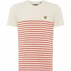 Lyle and Scott Breton Striped T-Shirt