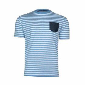 Raging Bull Big & Tall Pin Stripe T-Shirt