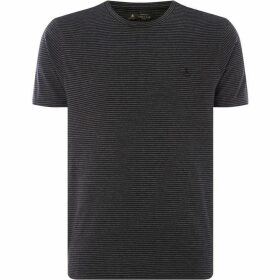 Label Lab Blade Crew Neck Stripe T-Shirt
