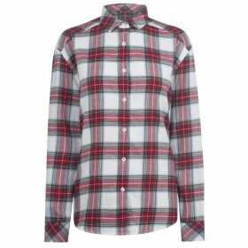 Jack Wills Ducklington Long Sleeve Shirt - White