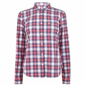 Jack Wills Homefore Classic Fit Checked Shirt - Red