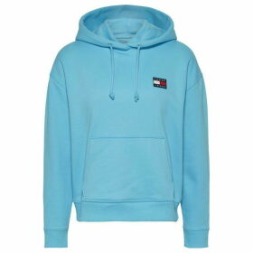 Tommy Jeans Badge Hoodie - FRESH AQUA
