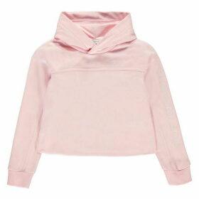 Calvin Klein Jeans Embroidered Logo Hoodie - Chalk Pink