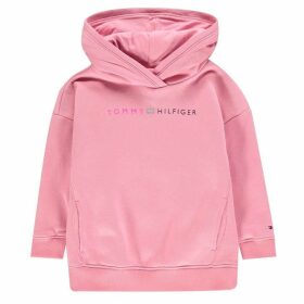 Tommy Hilfiger Essential Logo Hoodie - Sea Pink