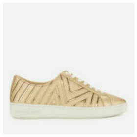 MICHAEL MICHAEL KORS Women's Whitney Low Top Trainers - Pale Gold
